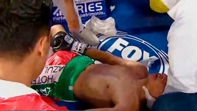 Boxeador mexicano es reanimado en pleno ring
