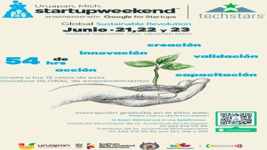 Startup Weekend Uruapan será plataforma internacional para jóvenes