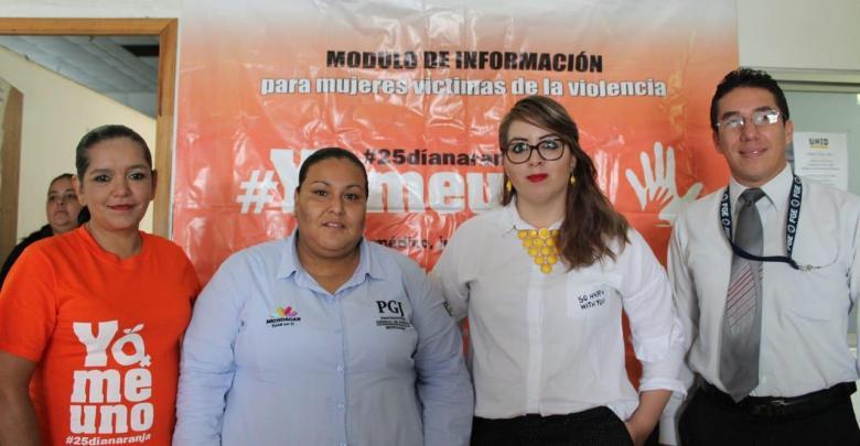 Convocan a la sociedad civil a frenar violencia de género en el marco del Día Naranja en Uruapan