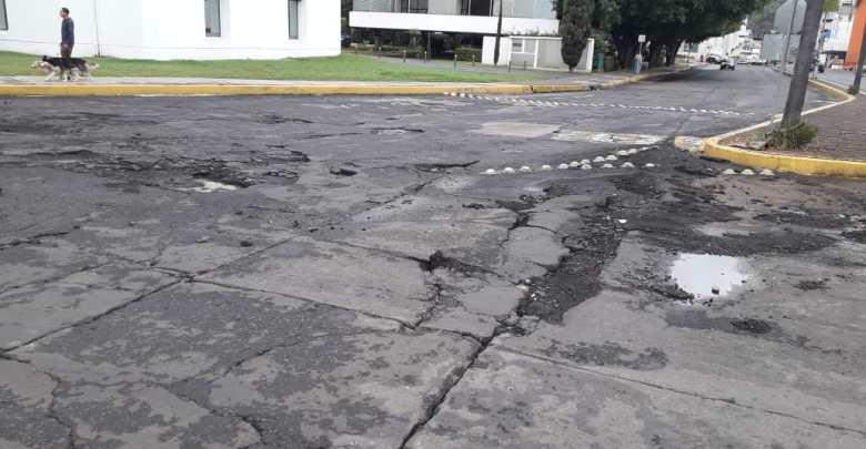En completo descuido la avenida Enrique Ramírez