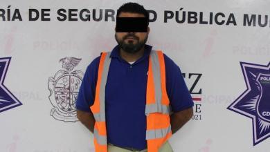 Detienen a hombre por negarse a pagar cuenta de 17 mil pesos en un bar