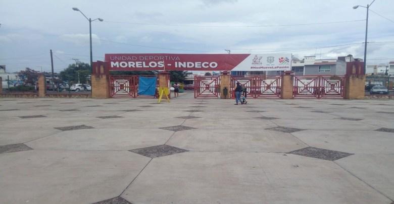 Persiste inseguridad en deportivo Indeco de Morelia
