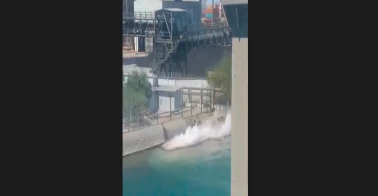 Video: Grupo México derrama 3 mil litros de ácido sulfúrico en el Mar