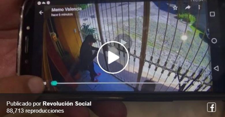Captan modus operandi de robo a casa habitación en Morelia