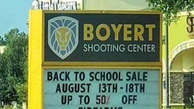 Tienda en Texas remata armas por regreso a clases