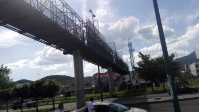 Puente peatonal olvidado por los ciudadanos y por gobierno municipal