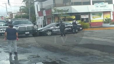 """Es el """"colmo"""", choque de dos patrullas al norte de Morelia"""