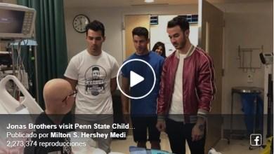 Video: Jonas Brothers sorprende a fan que no pudo asistir a su concierto por ir a quimioterapia