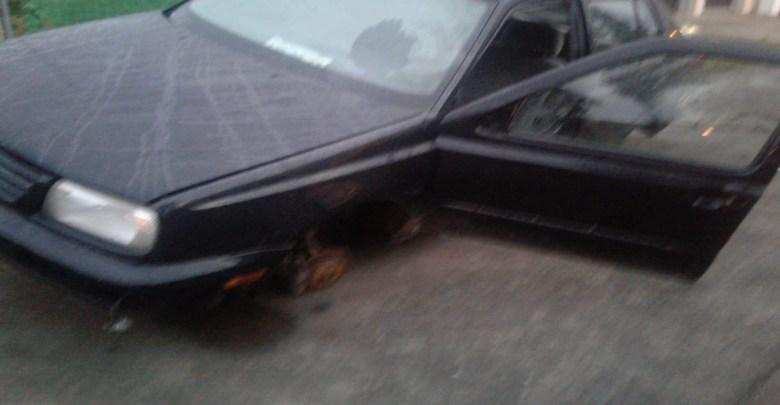 PM recupera vehículo con reporte de robo en la colonia Revolución