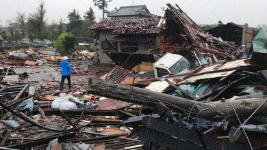Photo of Inundaciones y 40 fallecidos tras paso de Hagibis en Japón