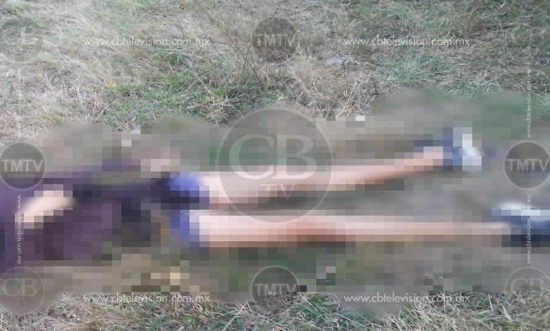 Abandonan mujer ejecutada en la colonia Quinceo