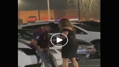Photo of Video: Captan a mujer ahorcando y golpeando a un hombre