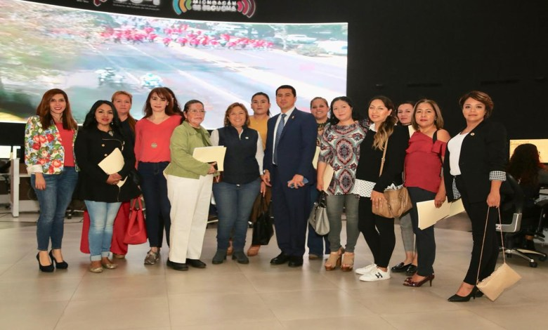 Fortalece SSP esquemas de seguridad a favor de las mujeres michoacanas
