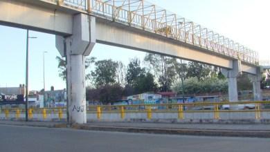 Photo of Viandantes sienten temor al transitar por puente peatonal