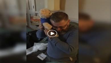 Photo of Video: Hombre rompe en llanto tras escuchar los latidos del corazón de su hijo fallecido