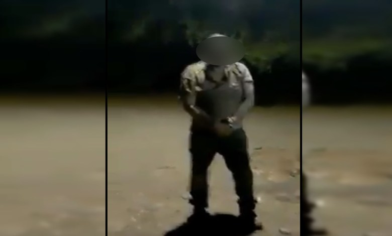 VIDEO (+18): La Nueva Familia Michoacana se graba ejecutando a un presunto integrante del CJNG