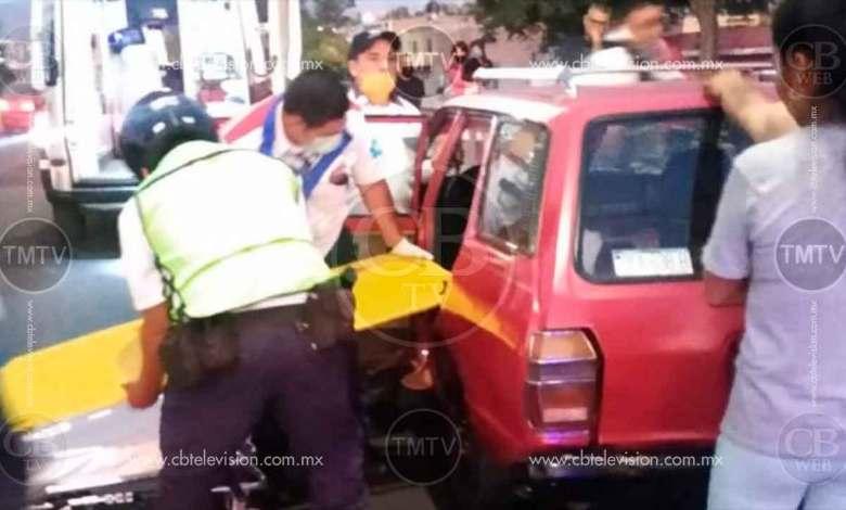 Nace bebé en calles de Morelia; tránsitos estatales brindan apoyo