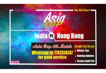 India vs Hong Kong 4th Match Asia Cup Win Team