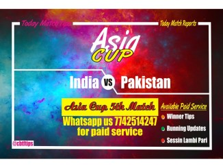 ind vs pak asia cup match tips