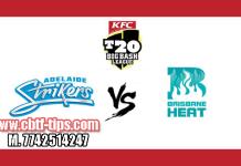 Brisbane Heat vs Adelaide Strikers BBL 2018 1st Match Reports Toss Lambi Pari BRH vs ADS