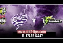 Hobart vs Thunder Match Reports Toss Lambi Pari HBH vs SYT