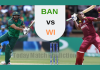 3rd ODI West Indies vs Bangladesh Toss Lambi Pari WI vs BAN Reports