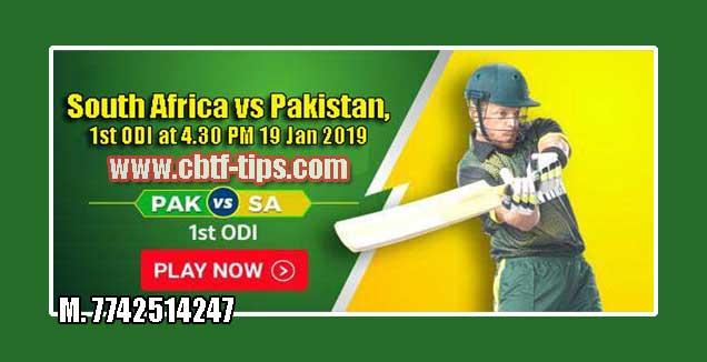 1st ODI Match Reports PAK vs SA Toss Lambi Pari Session Tips