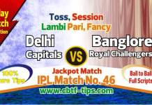 Lagai Khai SRH vs KXIP 48th Match Prediction & Betting Tips - 2019 IPL -Todayprediction.in