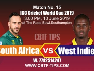 World Cup 2019 Ind vs NZL 18th Match Reports Betting Tips