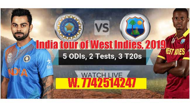 West Indies vs India 2nd T20 Match Prediction WI vs Ind Session Toss Lambi Pari Today Match Reports India tour of West Indies, 2019 Betting Tips