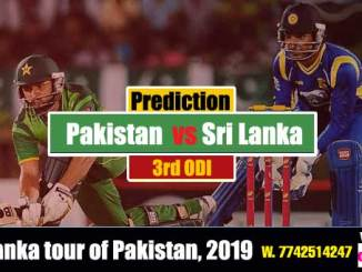 Betting Tips SL vs Pak 3rd ODi Today winning Reports Session Pari