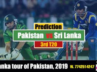 Pak vs SL 3rd T20 Cricket Betting Tips Match Prediction