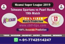 TST vs PR 19th Mzansi Super League Match Reports Betting Tips - CBTF