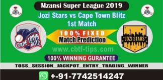 JOZ vs CTB 1st MSL T20 2019 Match Prediction Cricket Betting Tips