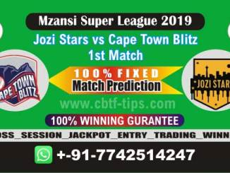 JOZ vs CTB 1st MSL T20 2019 Match Prediction Cricket Betting Tips