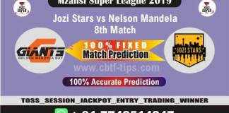 JOZ vs NMG 8th Mzansi Super League Match Reports Cricket Betting Tips