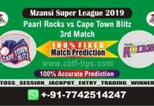 PR vs CTB 3rd Mzansi Super League Match Reports Cricket Betting Tips