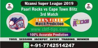 PR vs CTB 3rd Mzansi Super League Match Reports Cricket Betting Tips