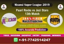 PR vs JOZ 13th Mzansi Super League Match Reports Cricket Betting Tips