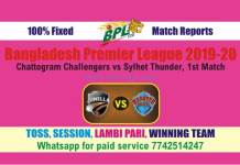 CUW vs RAN 2nd BPL T20 100% Fixed Match Reports Betting Tips CBTF