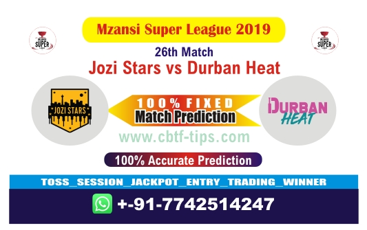 JOZ vs DUR 27th Match Reports Mzansi Betting Tips - CBTF 100% Sure