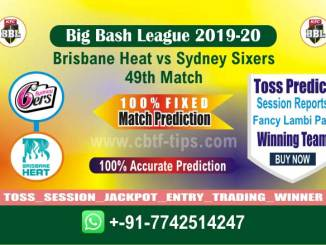 Betting Tips Big Bash BRH vs SYS 49th