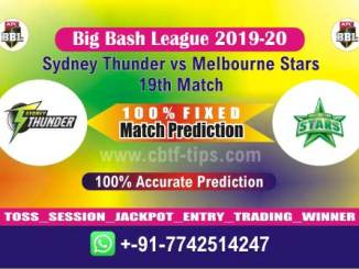 MLS vs SYT Big Bash League 2020 19th Match Fixed Cricket Betting Tips