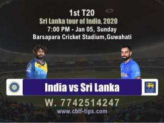 Sri Lanka tour of India 2020 1st T20 Match Real Fixed Betting Tips