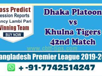 cbtf DHP vs KHT match prediction
