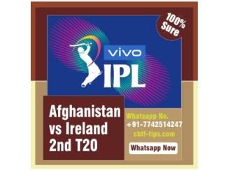 AFG vs IRE 2nd International T20 Sure Winner Prediction