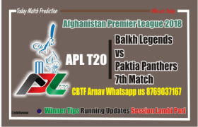 APL T20 Match Prediction Balkh vs Paktia 7th