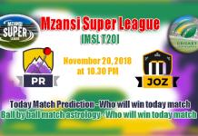 Jozi Stars vs Paarl Rocks MSL 2018 5th Match Tips