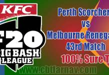 PRS vs MLR BBL 43rd Match Prediction MLR vs PRS Toss Pari Tips
