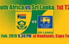 SL vs RSA 1st T20 Today Match Prediction Cricket Win Tips – Session